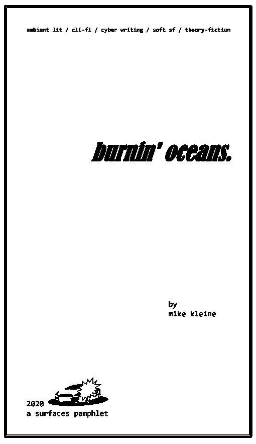 burnin' oceans by Mike Kleine